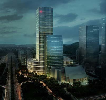 深圳广电金融中心工程